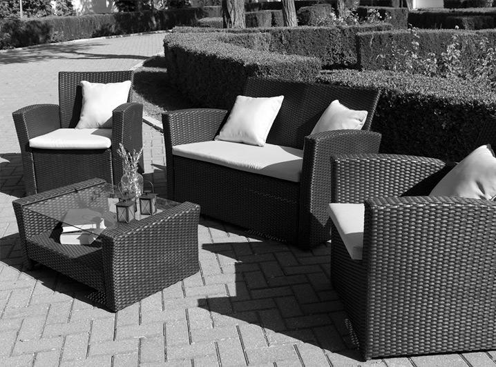 Sección mobiliario de jardín