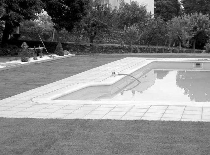 Sección piscinas